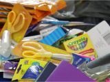 Party Supplies Roanoke Va Load the Bus Campaign Ready to Distribute School Supplies