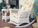 Patio Furniture Stores In Des Moines Ia Vintage Natural Wicker Rocking Chair