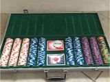 Paulson Clay Poker Chip Sets Paulson Clay Poker Chip Set Casino De isthmus 500 Chips