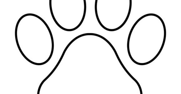 Paw Print Flower Art Paw Print Outline Paw Patrol Shape Templates String Art Templates