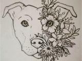 Paw Print Flower Art Women Tattoo Turn This Into A Lotus Tattoo Staffy Tattoo