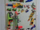 Pegboard for Nerf Guns Nerf Gun Storage Rack Pegboard with Pine Frame Nerf
