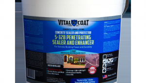 Penetrating Concrete Sealer Reviews S 328 Penetrating Sealer and Enhancer 5 Gallon Vital