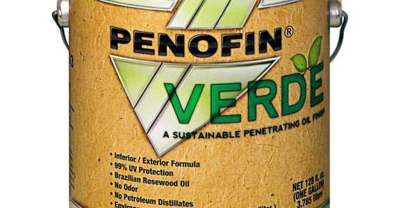 Penofin Brazilian Rosewood Oil Penofin Fovpnga Verde Penetrating Oil Pine One Gallon Household