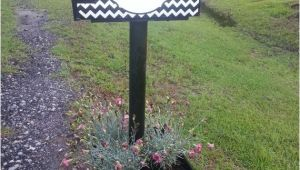 Personalized Magnetic Mailbox Covers Personalized Chevron Magnetic Mailbox Cover Black and White