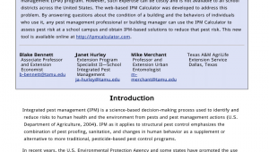 Pest Control Bryan Tx Pdf Regulating Pesticide Use In United States Schools