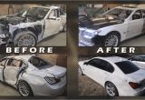 Pick and Pull Auto Parts Houston Watch This Russian Body Shop Completely Repair A totaled Bmw 7