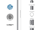 Picture Hanging Height formula 10 Tall X 3 0in Od X 11ga Thick Round Straight Steel Anchor Base