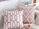 Pillow Shams Vs Cases Pink Series Decorative Throw Pillow Case 18 X 18 45cm X 45cm Set