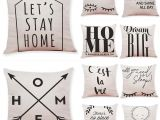 Pillow Shams Vs Cases Quotes and Sayings Linen Cushion Covers Home Office sofa Square