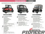 Pioneer Sand and Gravel Price List Detailed 2016 Honda Pioneer 1000 Review Of Specs Videos Pictures