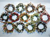Pip Berry Taper Candle Rings Pip Berry Candle Rings 2 Quot Color Variations Ebay