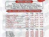 Pizza Delivery In Jacksonville Nc Menu for Milano Pizzeria Nixon Tx