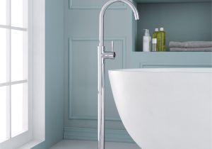 Plumbers In Rocky Mount Nc Ariel Bath Single Handle Floor Mounted Freestanding Tub Filler Wayfair
