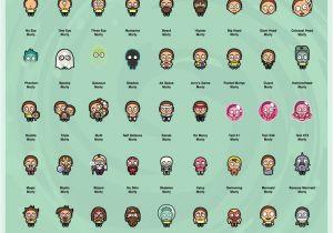 Pocket Mortys List Of Recipes Alicia Hauser Anhauser16 On Pinterest