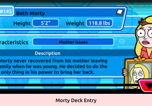 Pocket Mortys List Of Recipes V1 6 1 Morty 145 Beth Morty Imgur
