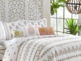 Polyester Comforter Vs Cotton Comforter Dena Designs Marielle 100 Cotton Reversible Comforter Set Reviews