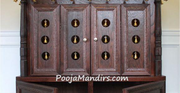 Pooja Mandir for Home In Usa Pooja Mandirs Usa ashvini Collection Closed Model Pooja Mandir