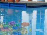 Pool Decals for Concrete Pools Pool Decal Seahorse Group for Concrete Fiberglass Pools