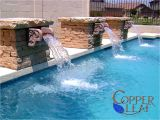 Pool Scuppers and Spouts Swimming Pool and Spa Full Image Gallery