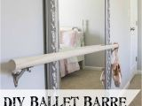 Portable Ballet Barre Diy Diy Ballet Barre and How to Hang A Heavy Mirror Inspiring Diy