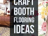 Portable Display Shelves for Arts and Craft Fairs and Shows Portable Flooring Ideas for Your Craft Booth Craft Fair Displays