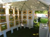 Portable Display Shelves for Arts and Craft Fairs and Shows Wooden Pieces for Framed Work Tents Displays Art Craft Fairs