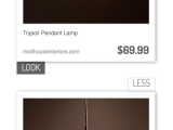 Pottery Barn Explosion Chandelier Trypoli Pendant Lamp Vs Holly Martin Trypoli Pendant Light