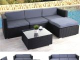 Pottery Barn Outdoor Furniture Replacement Cushions Rattan sofa Ausziehbar Luxus Lounge Balkonmobel Outdoor Wood Chair
