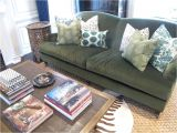 Pottery Barn Pearce sofa Replacement Cushions Living Room Olive Green Couch Not Our Couch but In Search Of