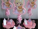 Precious Moments Baby Shower Decorations Items Similar to 3 Precious Moments Baby Girl Glitter