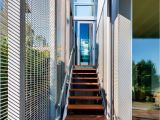 Prefab Metal Stairs Residential David Coleman Architecture Designs A Contemporary Home In Seattle