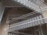Prefab Metal Stairs Residential Rectangular Stairway In An Apartment Building Vastra Kajen 1
