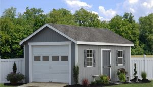 Prefab Single Car Garage Prefab Garage Packages From Sheds Unlimited In Lancaster