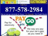 Prepaid Electricity Houston Tx Pictures for No Deposit Prepaid Electric Companies In