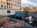 Public Park In Manhattan Built On An Old Railway High Line Elevated Park Stock Photos High Line Elevated Park Stock