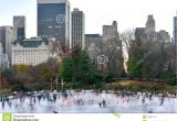 Public Park In Manhattan New York Wollman Skating Rink Central Park Nyc Editorial Image Image Of