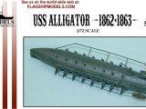 Public Storage Edmond Ok 73013 Amazon Com 1 72 Scale Uss Alligator Union Submarine 7 5 Long