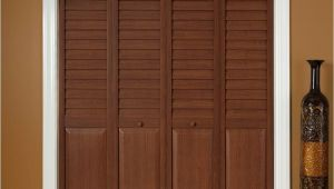 Puertas De Closet En Home Depot Home Fashion Technologies 18 In X 80 In 3 In Louver Panel Dark