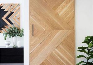 Puertas De Madera Para Closet Home Depot Barn Door Herringbone Detail Stacey Clare Doors Pinterest