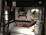 Pull Down Bed From Wall Ikea Ikea Bedroom Loft Bed with Chaise Underneath Tv On the Wall for