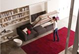 Pull Down Bed Ikea Modern Murphy Beds Small Living Save Space with King