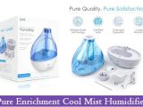 Pure Enrichment Ultrasonic Cool Mist Humidifier Manual Sam Johnson