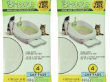 Purina Tidy Cats Breeze Litter Box System Reviews Amazon Com Tidy Cats Breeze Litter Pads 16 9 X11 4 2 Pack Of 4