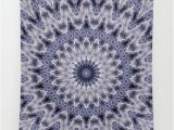 Purple and Grey Tapestry Purple Gray Mandala Wall Tapestry by Temas14mk society6