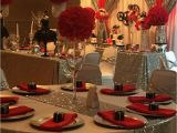 Quinceanera Table Centerpiece Ideas Hollywood Quinceaa Era Party Ideas Table Settings Wedding