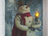 Radiance Flickering Light Canvas Snowman 17 Best Images About Radiance Lighted Canvas at Shelley B