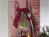 Radiance Flickering Light Canvas with Timer Radiance Christmas Sled and Candles Flickering Led Lighted