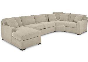 Radley 4 Piece Sectional Macys Furniture Radley 4 Piece Fabric Chaise Sectional sofa