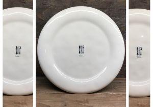 Rae Dunn Christmas Dinner Plates New Rae Dunn Eat Chow Dine Icon Dinner Plates Set Of 6